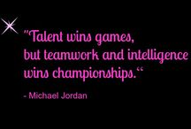Teamwork Quotes / Great quotes to use with employees/business partners about how working as a TEAM gets us all so much farther