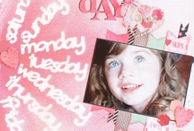 Paper Love: Layouts with Chipboard