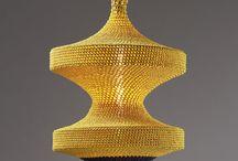 lampe crochet