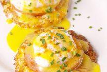 Savoury eggs