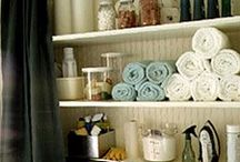 Home Laundry Room / Ideas for decor or organizing the laundry room / by Lisa Wigger