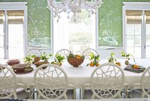 Dining Room / According to Houzz the formal dining room is making a comeback so here's some inspiration to make that perfect social dining space!
