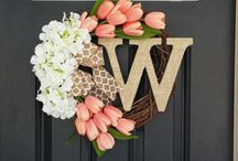 Spring - Easter home decor