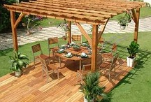 Pergola Ideas / by Robin Jones Warzywak