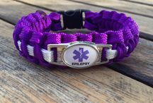 Medical ID Bracelets / Handmade paracord medical ID bracelets.   We also have customizable medical ID templates.
