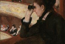 Impressionisme ~ Mary Cassatt / 22 mei 1845 Pittsburgh - 14 juni 1926 Mesnil-Thèribus