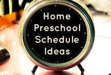 Preschool / by Tales of Beauty for Ashes