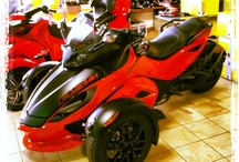 Can - am spyder / by Terry Graham
