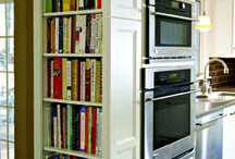 A Perfect Home Library love it for my cook books