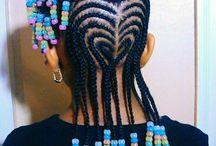 Lil mama's hair