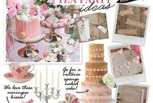 Vintage Wedding Ideas / Style your big day with a traditional English tea party theme, with china teacups, statement cakes, boho inspired decor and a dessert table all your guests will be taking about!