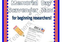 Holiday--Memorial Day