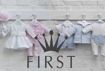 FIRST SS16 / This collection creates a world full of tenderness and luxury for your baby.