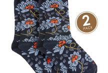 Superior Socks / Natural fiber socks from Bamboo, Merino and Possum-Merino Wool.