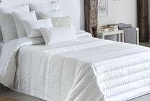 Edredones elegantes / Edredones decorativos hechos a medida, confeccionados con distintas tejidos.
