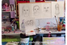 Blog posts from Tanya Cole Artist / My creative process