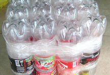 puffs de Pet grafa de refrigerantes