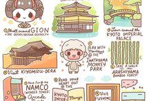 Visit Japan Cartoon