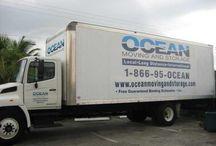 Company mover truck