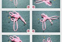 Macrame & Knot / Using Paracord, ribbon, etc.