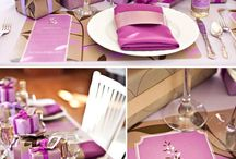 Weddings - Purple and Gold