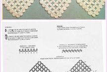 Crochet edgings and borders / Crocheted edgings / by I Sutton