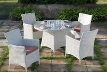 MESAS TERRAZA Y JARDIN / Ideas y propuestas para decorar y amueblar las terrazas y jardines con originales mesas de exterior.