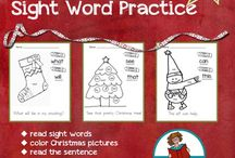 Christmas Literacy / teaching literacy at Christmas, teacher resources, elementary education, holidays, school, primary learners
