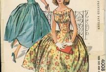 Vintage patterns  / The vintage pattern inspiration/wish list  / by Sewrendipity