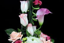 muvirag dekorok - aranjamente florale artificiale