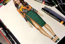 #Fashion Sketches