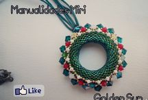 Mis Creaciones con abalorios/My creations with Beads / Todo lo que voy haciendo lo veréis aquí,me encantan los abalorios,pero aún más crearlos