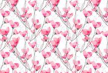 Tekstil & tapet / Wallpaper & fabric