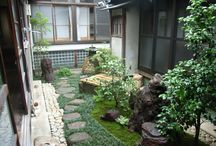 Courtyard (My works) / I design, it is a site that was constructed. 私がデザイン、施工した現場です。