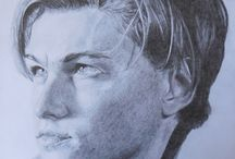Pave paintings, drawings / oil painting, portraits, drawing