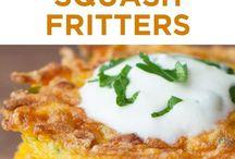 Butternut Fritters