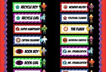Superhero classroom ideas