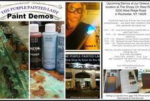 DEMOS AT THE PURPLE PAINTED LADY