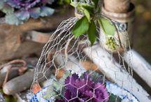 dekorasjoner med blomster