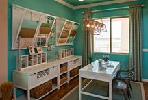 Craft room / by Whitney Doty