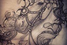Единорог /Конь