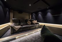 First Light / Home theatre in Sydney NSW Australia designed by Wavetrain Cinemas. Seating by Fortress Seating.