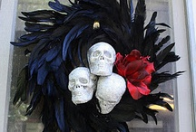 Skelton wreath