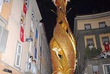 Festa di Santa Rosa- Viterbo- Italy