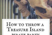 Treasure Island Pirate Themed Party Ideas
