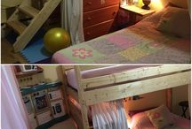 Homemade bunk bed / by Isabelle Pinet