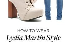 Lydia Martin Outifts
