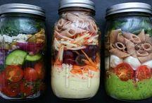 Salat im Glas!!