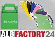 Verpackung - Giftbox / Beispiele wie toll eine individuelle Verpackung aussehen kann. Online gestaltet auf www.albfactory24.de. Kleinserie ab 1 Stück, eigener Editor, eigene Größe, eigenes Design.