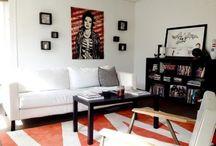 Quadros na decoração / Inspirações de como usar quadros na decoração da sua casa